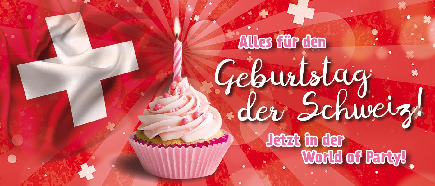 Geburtstag der Schweiz